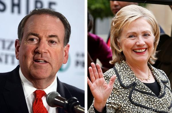 Hillary or Huckabee?