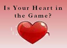 When Your Heart's Not in theGame