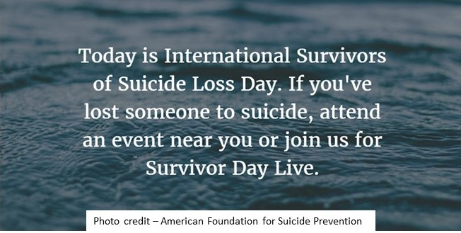 Survivors of Suicide Loss Day