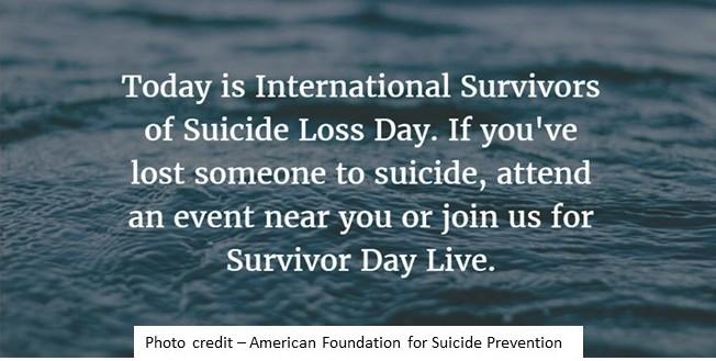 Survivors of Suicide LossDay