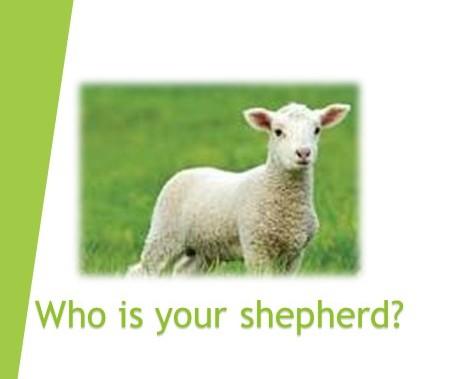 God as OurShepherd