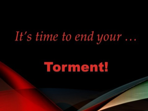 Trust God to Rescue You from YourTorment!