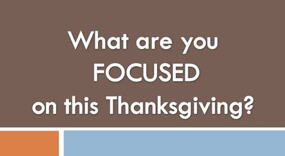 In Spite of Challenges; Life is Still WorthThanksgiving